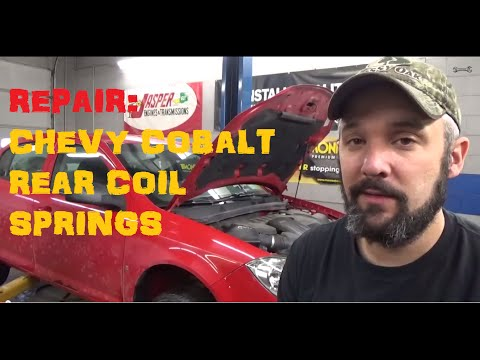 Replace Rear Coil Springs - Chevy Cobalt