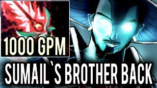 Sumail`s Brother is BACK! [Storm Spirit] God Mode 1000 GPM 37 Kills Impossible Game Dota 2
