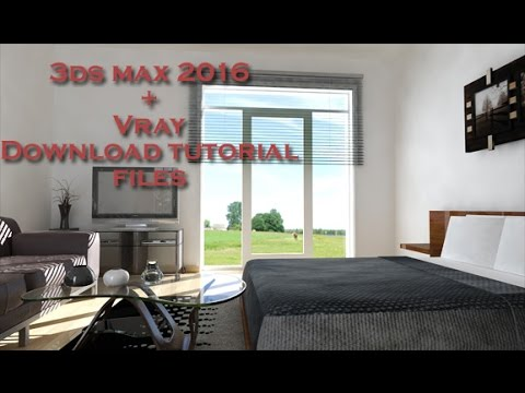 3ds Max 2016 Vray render (Simply scene + download)