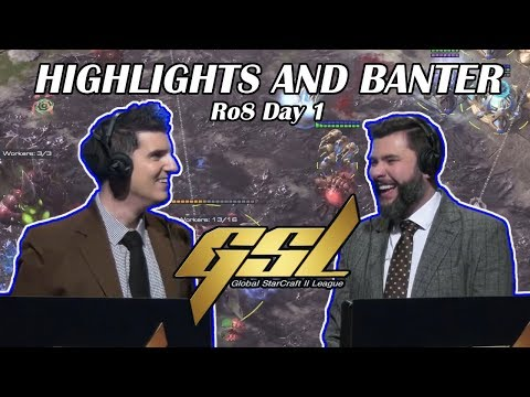 Tasteless And Artosis - GSL 2019 Season 1 Ro. 8 Day 1 - Highlights And Banter