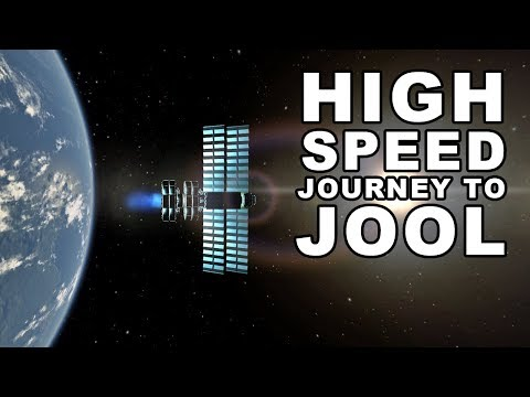 Kerbin To Jool in only 160 Days 🚀- Super High Speed Transfer in Kerbal Space Program