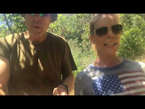 Hiking With Kevin  Cheryl Hines Pt. 1