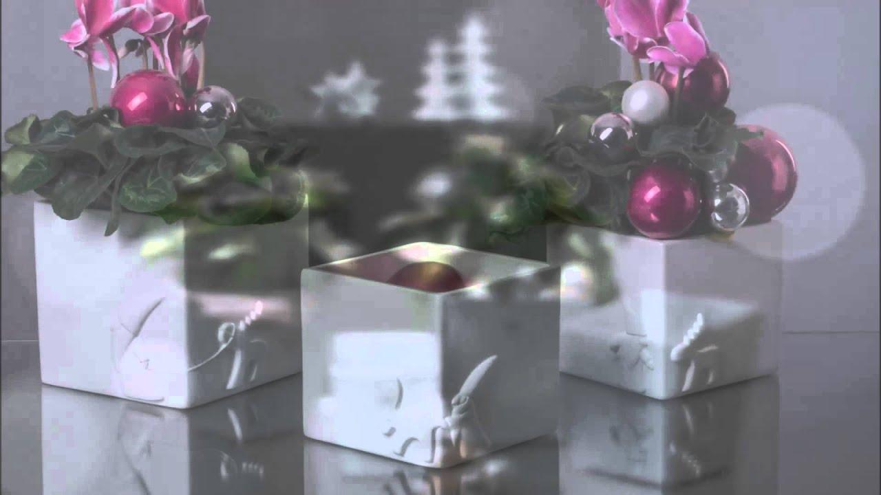 Valentino Weihnachtsdeko.Valentino Weihnachtliche Kübelvarianten