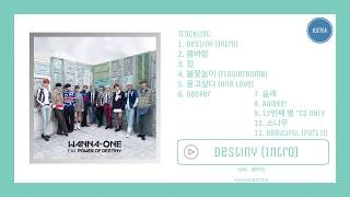 [FULL ALBUM] WANNA ONE 워너원 - 1¹¹=1 POWER OF DESTINY | ICE TEA
