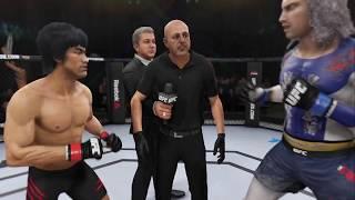 Bruce Lee vs. Raiden (EA sports UFC 3) - CPU vs. CPU
