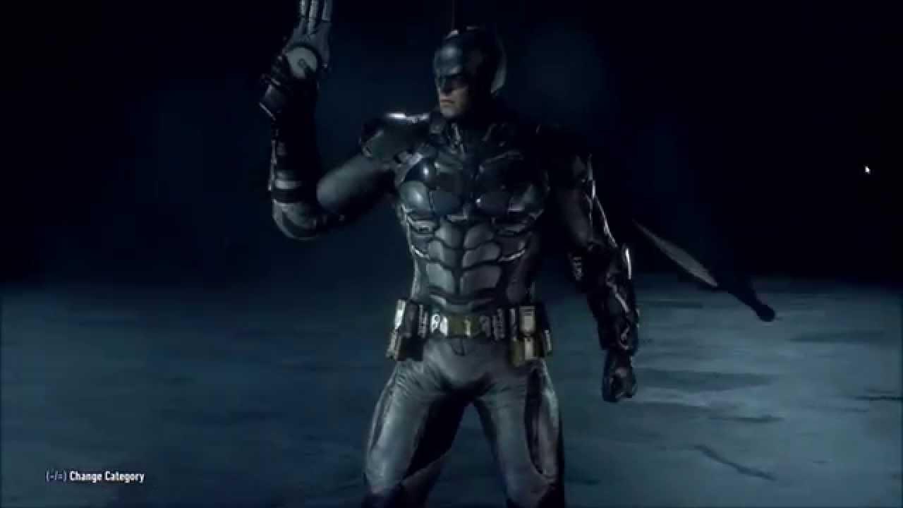 arkham knight batsuit v804 pristine edition youtube