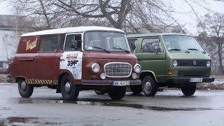 Porównaliśmy samochody z dwóch stron muru berlińskiego! #Legendy_PRL