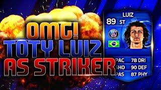OMFG TOTY STRIKER LUIZ! FIFA 15 ULTIMATE TEAM