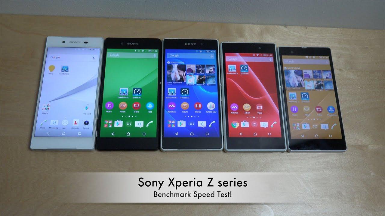 Sony Xperia Z5 Vs. Z3+ Vs. Z2 Vs. Z1 Vs. Z