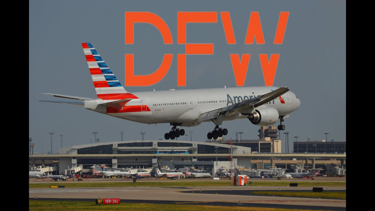 Plane Spotting Windy In The Dallas Fort Worth