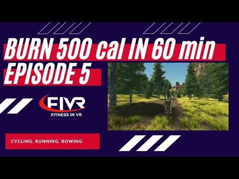 Morning Workout || 60 min on Stationary Bike for Weight Loss || #FiVR