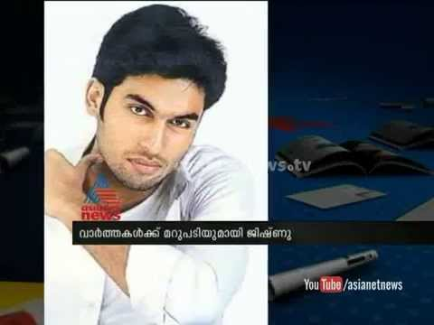 Actor Jishnu  Clears Rumours over his Health