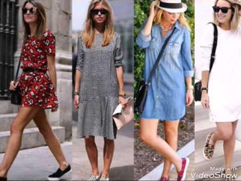 С чем носить слипоны женские? Модные образы.