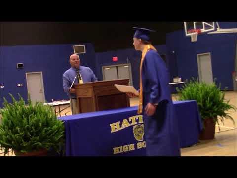 Stetson Lochala Senior Awards Day 2020, Hatley High School, Hatley, MS