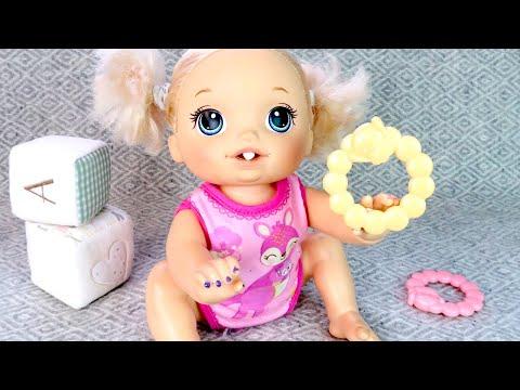 Первый Молочный Зубик Как Мама Играла в Куклы Пупсики Мультики для детей 108мама тв