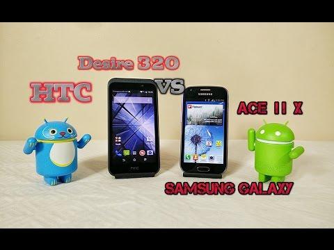 HTC Desire 320 VS Samsung Galaxy Ace 2 X