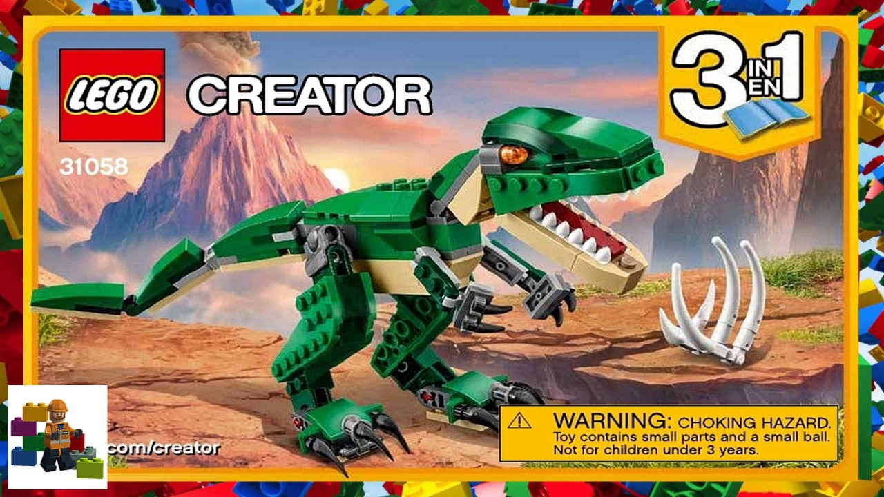 Lego Instructions Creator 31058 Mighty Dinosaurs Book 1