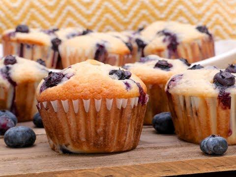 Blueberry Cream Cheese Muffins Recipe