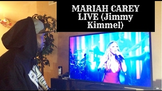 Mariah Carey- Visions Of Love live (Jimmy Kimmel) Reaction