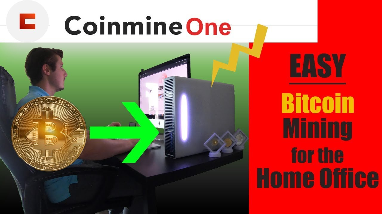 The Easiest Way to Mine Bitcoin - Coinmine One Review