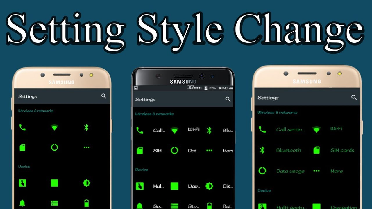 How to Change Any Android Setting Background Style With Root - Bangla