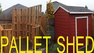 Shed built with free pallets (extended version)