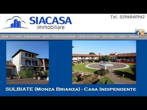 Sulbiate Casa Indipendente in Vendita (Monza Brianza) - Immobili per ...