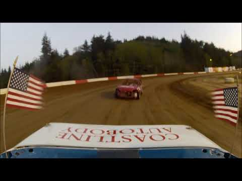 Coos Bay Speedway 4-21-18 Hornet Main Event Rear View