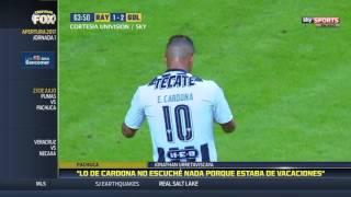 Jonathan Urretaviscaya dejó sentirse contento por seguir en Pachuca