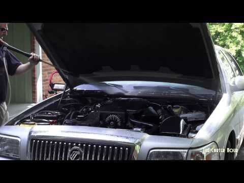 How to clean/detail an engine on a vehicle