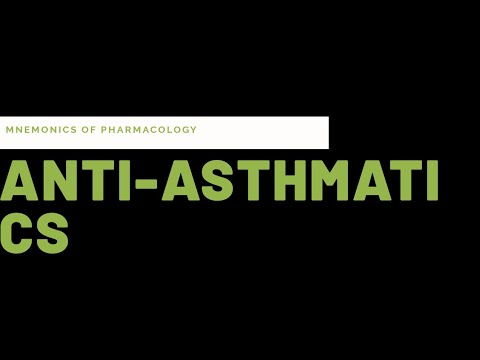 Simple tricks(mnemonics) to learn drugs for bronchial asthma