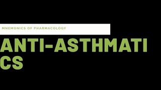 simple tricks mnemonics to learn drugs for bronchial asthma