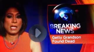 BREAKING: J. Paul Getty Grandson Dead