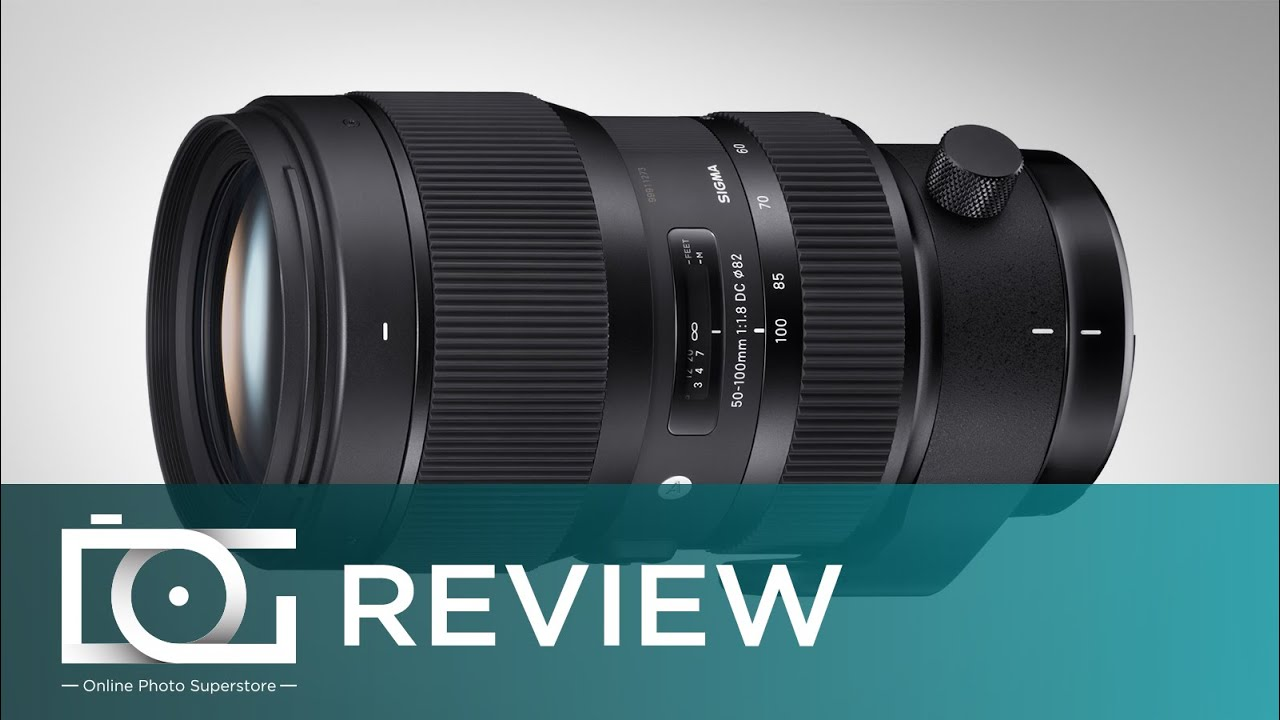 UNBOXING REVIEW | SIGMA 50-100mm f1 8 Art Telephoto Zoom Lens for CANON