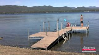 Kayak and Canoe Water Launch Boat Lift