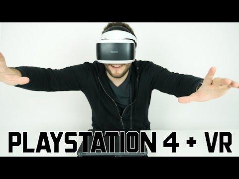 PLAYSTATION 4 + VR 😎🎮