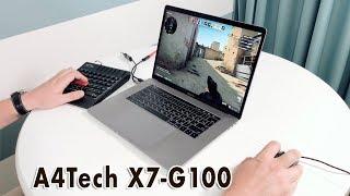 CS:GO на MacBook Pro. Обзор A4Tech X7-G100