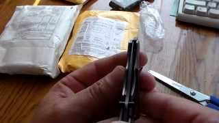 Ножі STRIDER 313B і B43 + акумулятори АА TangsFire 3000mAH