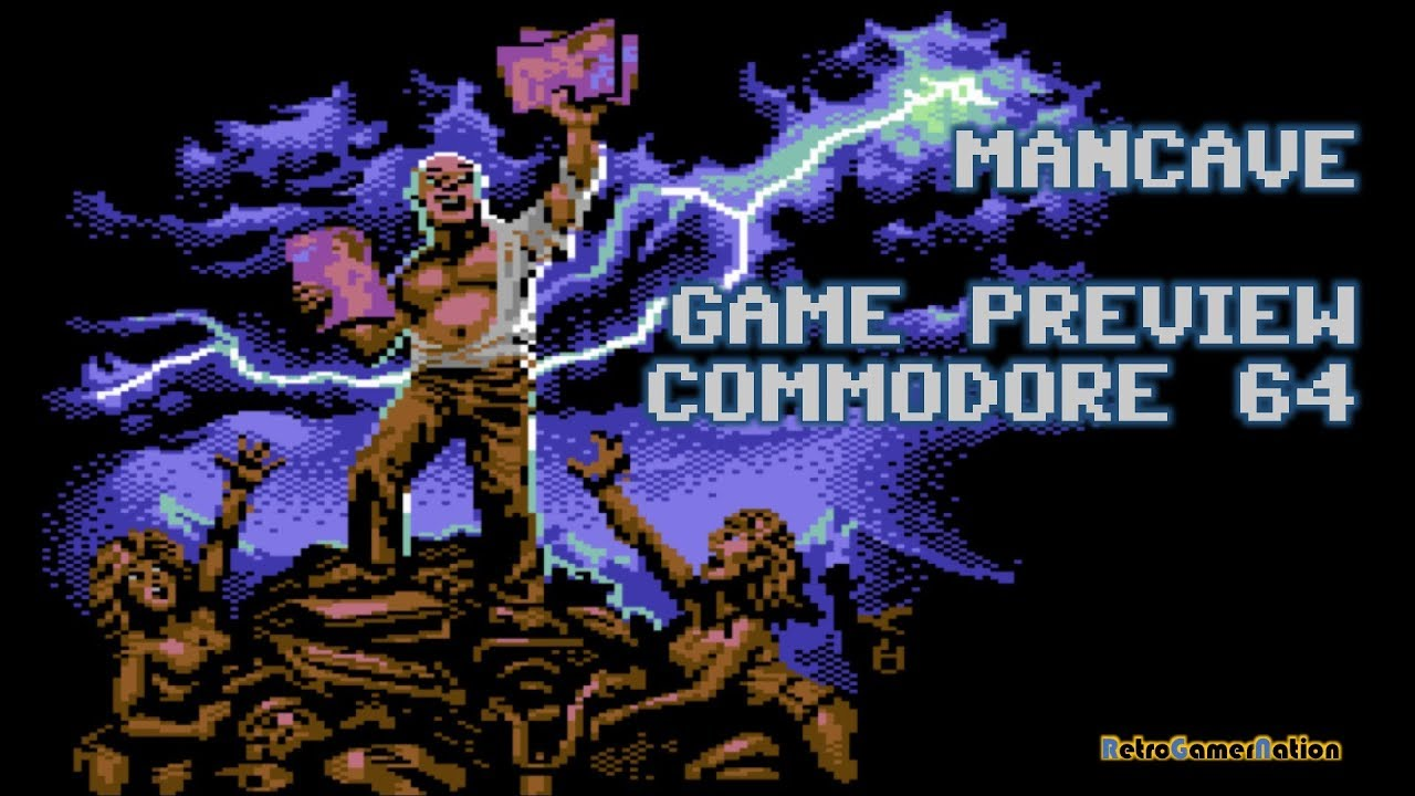 Mancave (C64) - 2019 Game Preview