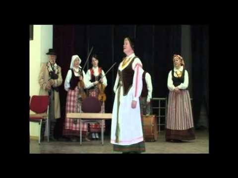Radasta Folk Group Performance in Vilnius, Lithuania