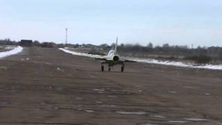 SR 10 New Russian jet trainer piloted by Kabanov and Kvochur