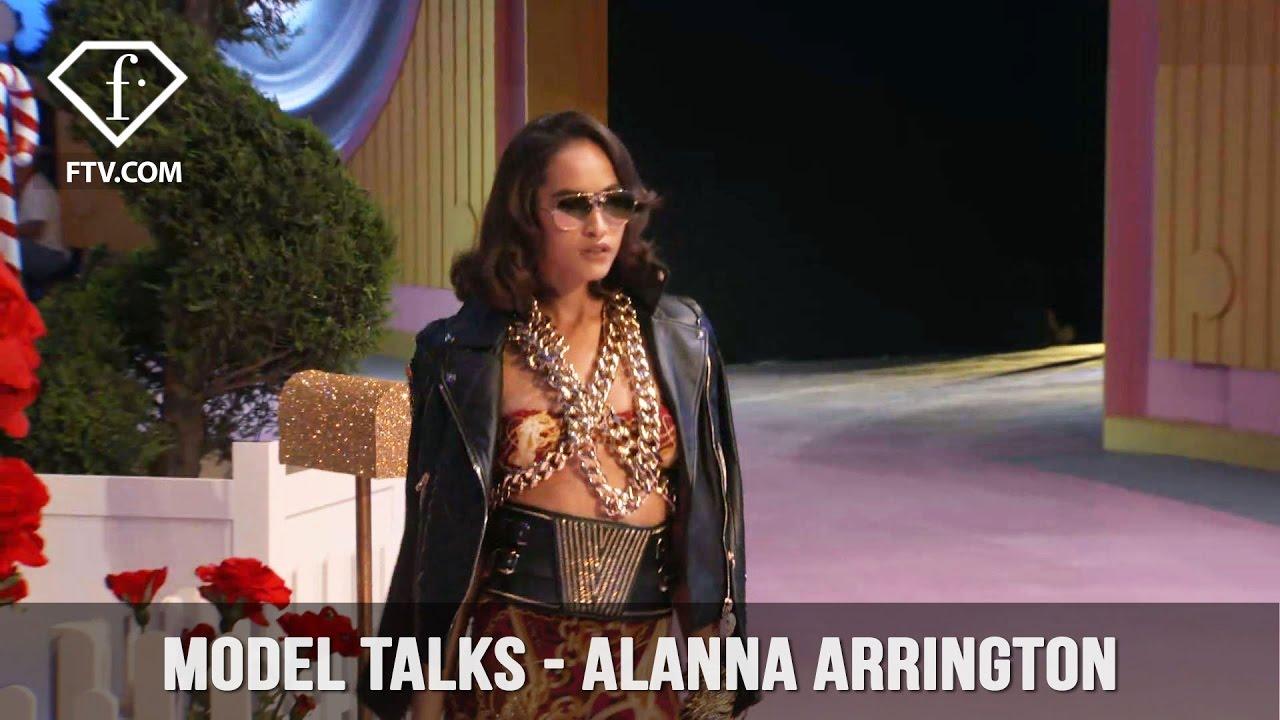 Model Talks S S 17 Alanna Arrington Fashiontv