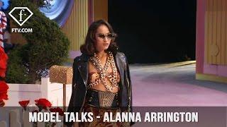 Model Talks S/S 17 Alanna Arrington | FashionTV