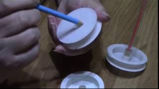 как сделать Спинер  для бисера из подручных материалов