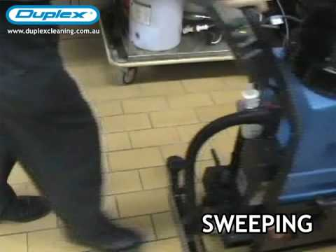 Duplex Salla Floor Scrubber Cleaning Equipment
