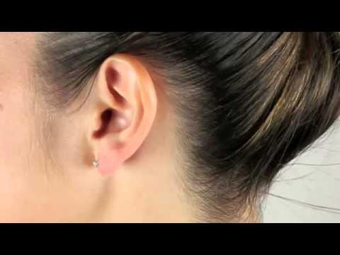 1 4 Ct T W Diamond 14k White Gold Stud Pierced Earrings