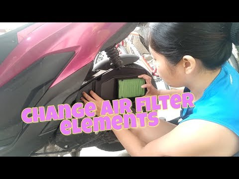 Game Changer Click 125i (Change Air Filter Elements)