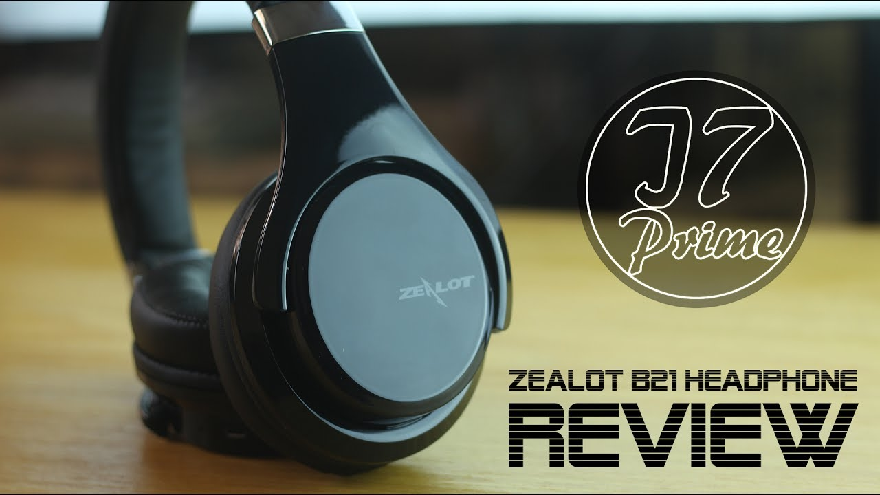 641c525b4ca Zealot B21 Headphone with Touch Control review - YouTube