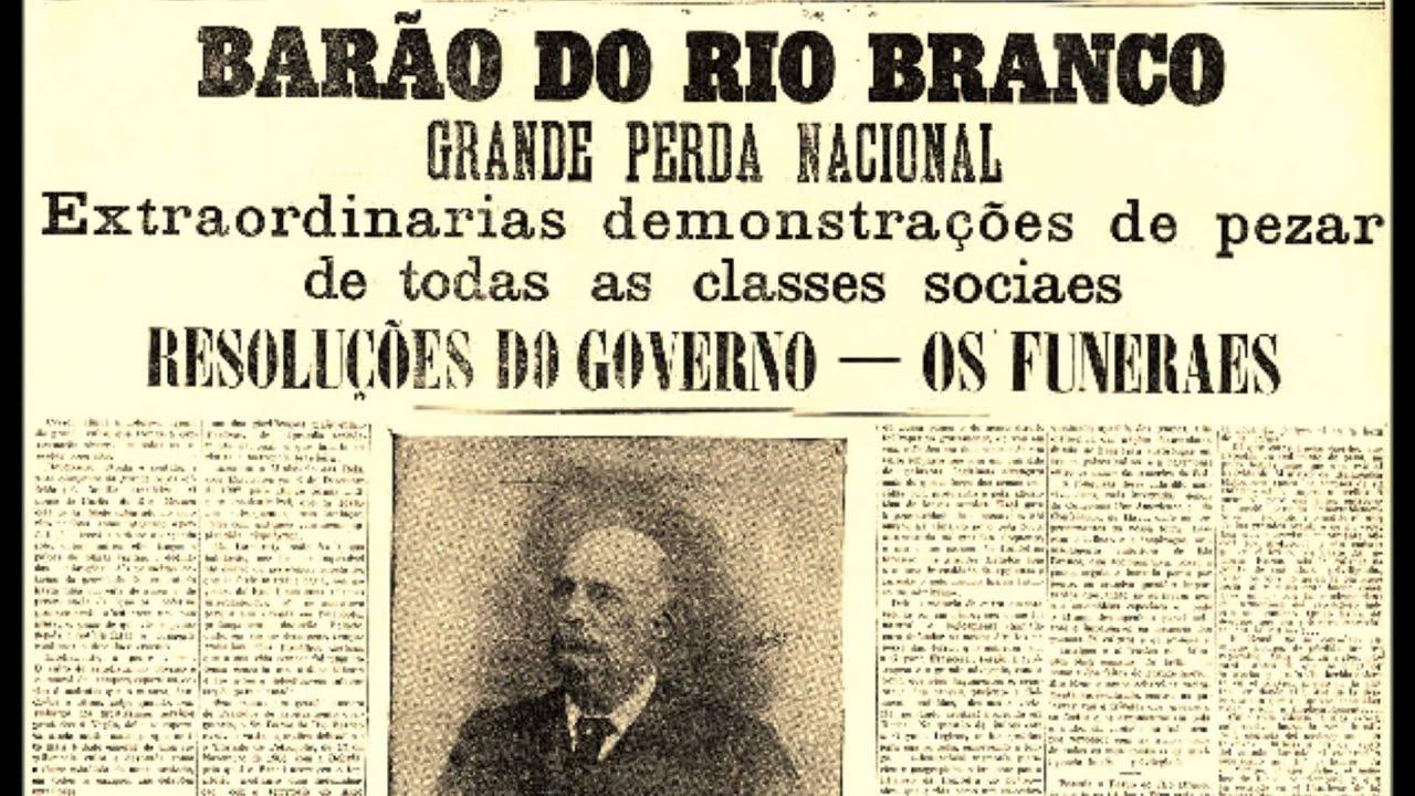 Serrano - A MORTE DO BARÃO DO RIO BRANCO - Autor Desconhecido ...