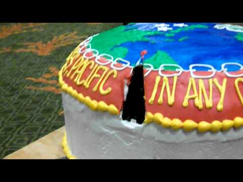 236th Marine Corps Birthday Ball Cake - Marine Forces Pacific - 12 June 1944--Present